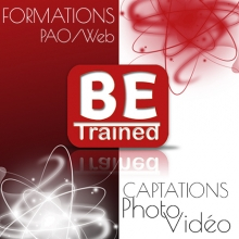 Logo betrained production photo et video